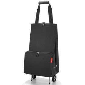 Foldable trolley Black Wózek na zakupy