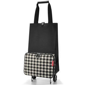 Foldable trolley Fifties Black Wózek na zakupy