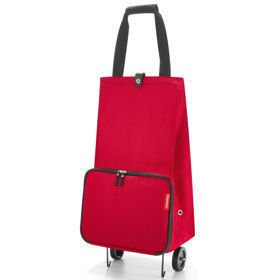 Foldable trolley Red Wózek na zakupy