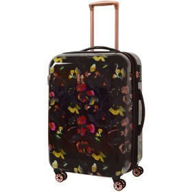 IT Luggage Warrior Dark Floral Print średnia walizka M