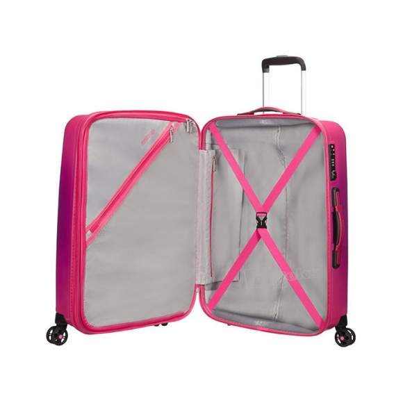 American Tourister Air Force 1 Spinner Expandable średnia walizka