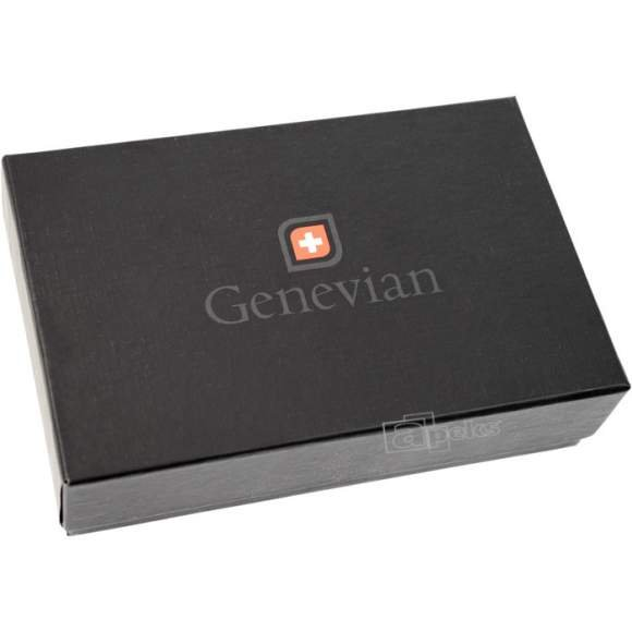 Genevian Luxury Objects 03-2400-01 skórzane etui na okulary