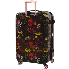 IT Luggage Warrior Dark Floral Print duża walizka L