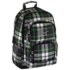 "All Out Louth plecak szkolny 45 cm / laptop 15,6"" / Forest Check"