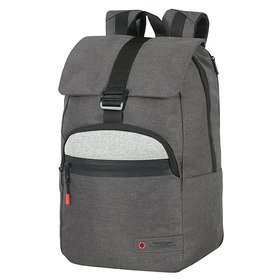 "American Tourister City Aim miejski plecak na laptopa 15,6"" / Anthracite Grey"