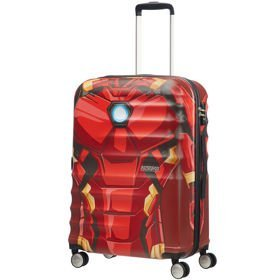 American Tourister Wavebreaker Disney średnia walizka 67 cm / Iron Man Close-Up