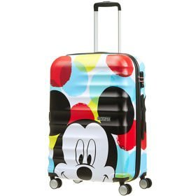 American Tourister Wavebreaker Disney średnia walizka 67 cm / Mickey Close-Up