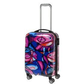 IT Luggage Imprint mała walizka kabinowa poszerzana 24/53,5 cm / Painted Fish