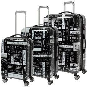 IT Luggage Imprint zestaw walizek / komplet / set / Location Names