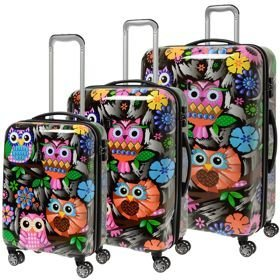 IT Luggage Imprint zestaw walizek / komplet / set / Owls