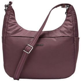 "Pacsafe Cruise All Day Crossbody damska torba antykradzieżowa na ramię / na tablet 10"" / Pinot"