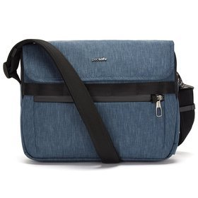 "Pacsafe Metrosafe X Messenger torba na ramię / na laptopa lub tablet 12"" / Dark Denim"