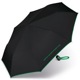 United Colors of Benetton Mini AC 56601 parasol krótki składany / Black