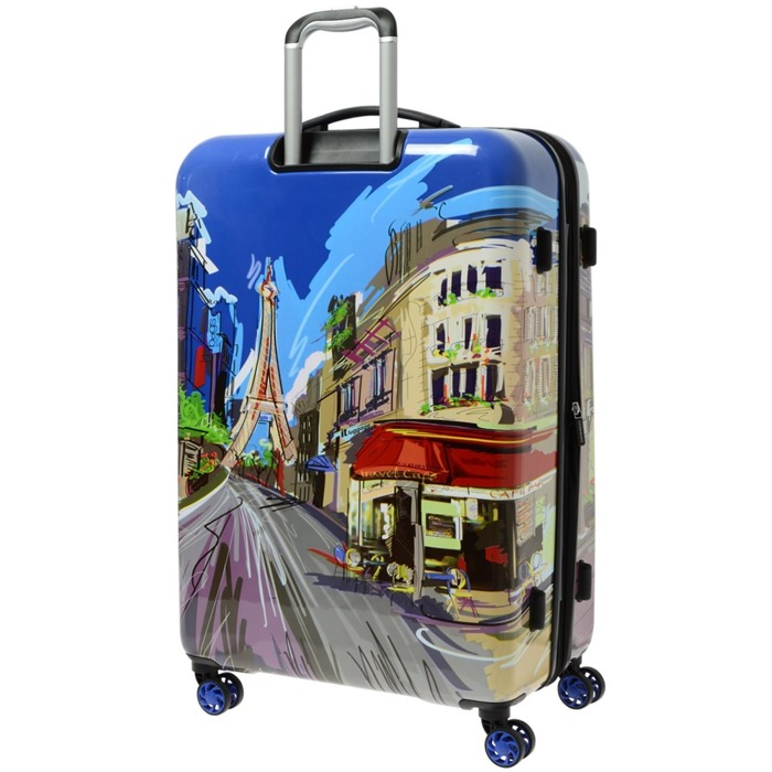 IT Luggage Imprint duża walizka poszerzana 75,5 cm / Paris Cafe (Day)