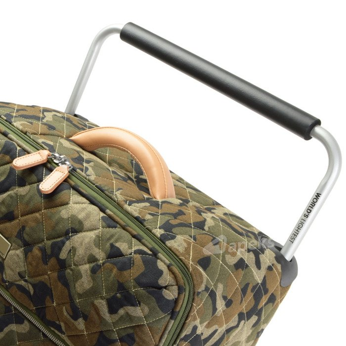 IT Luggage World's Lightest Quilted Camo średnia walizka M 65,5 cm / Sand Camo