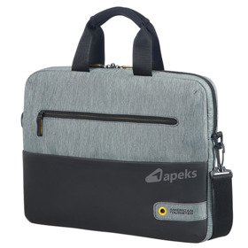 "American Tourister City Drift torba na laptopa 14,1"" / czarno - szara"