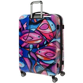 IT Luggage Imprint duża walizka poszerzana 75,5 cm / Painted Fish